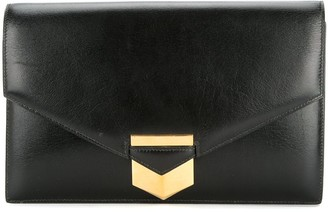 Hermes Pre-Owned 1989 clasped clutch bag