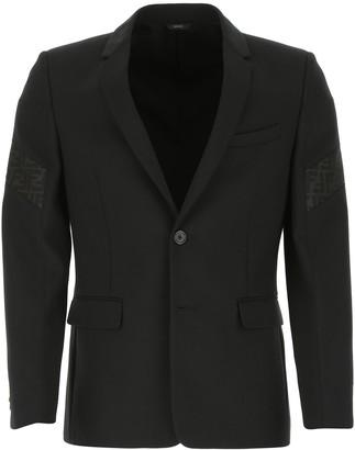Fendi Single-Breasted Slim Fit Blazer