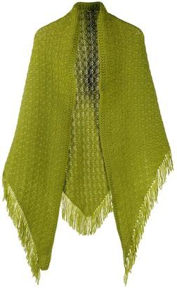 Danielapi cashmere fringe-trimmed scarf