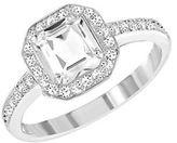 Swarovski Attract Light Sqaure Crystal Ring