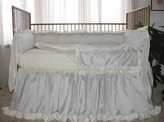 The Well Appointed House Lulla Smith Vienna Three Piece Crib Bedding-Available in a Variety of Colors