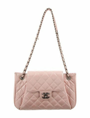 Chanel Accordion Flap Bag pink
