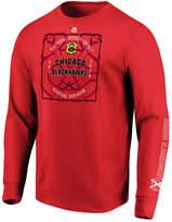 Majestic Men's Chicago Blackhawks Keep Score Long Sleeve T-Shirt