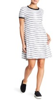 Ten Sixty Sherman Short Sleeve Striped T-Shirt Dress