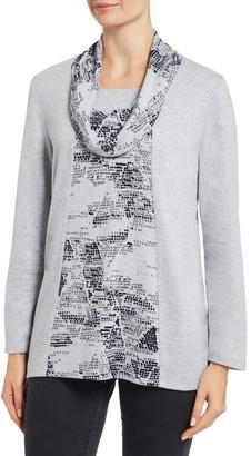 M&Co TIGI printed tunic