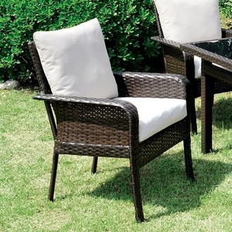 Brayden Studio Kayo Patio Dining Chair with Cushion