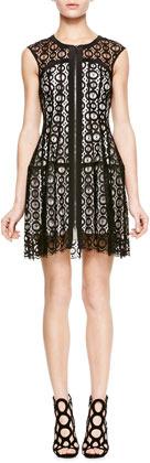 Nanette Lepore Drive Me Crazy Lace Dress