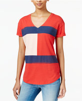 Tommy Hilfiger Flag Graphic T-Shirt, Only at Macy's