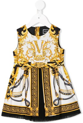 Versace Baroque Print Dress