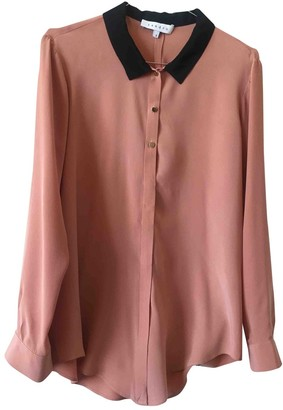 Sandro Pink Silk Top for Women