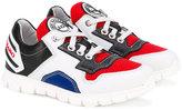 John Galliano panelled sneakers