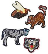 Topman Animal Iron On Badge Set*