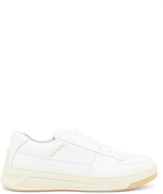 Acne Studios Perey Leather Trainers - White