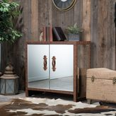 Christopher Knight Home Evelyn Mirrored Two-Door Cabinet