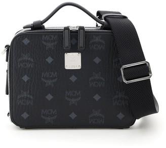 MCM Visetos Small Klassic Crossbody Bag