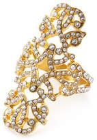 Nomi K Swarovski® Crystal Engagement Napkin Ring, Set of Four, Gold