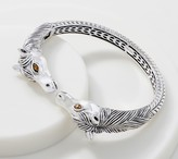 Jai JAI Sterling Silver Double Head Horse Cuff, 40.0g