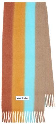 Acne Studios Wool-blend striped scarf