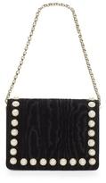 Louise et Cie Lousie et Cie Edeth – Faux Pearl-detailed Shoulder Bag
