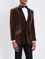 Richard James Regular-fit notch-lapel velvet jacket