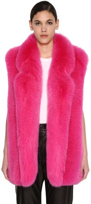 Long Shadow Fur Vest