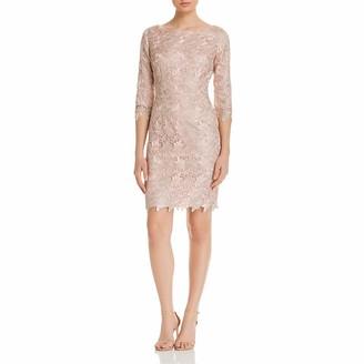Brinker & Eliza Women's 3/4 Sleeve Lace Sheath Dress