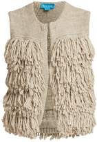 MiH Jeans Woodstock loop-stitch knit gilet