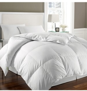 Kathy Ireland Essentials White Goose Feather & Down Twin Comforter