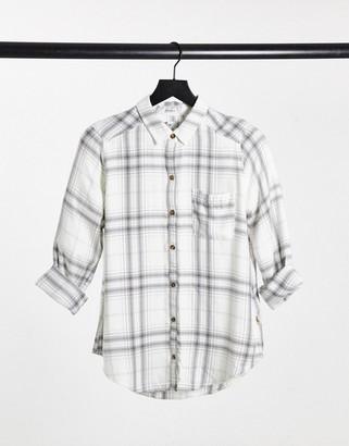 Hollister long sleeve shirt in plaid