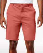 American Rag Men's Raw Edge Twill Chino Shorts, Created for Macy's