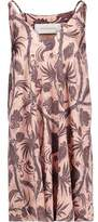 Zimmermann Lavish Printed Satin Mini Dress