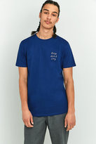 Wemoto Bdc Blue Embroidered T-shirt