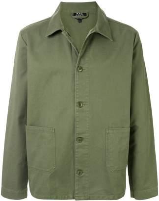 A.P.C. Kerlouan straight-cut jacket