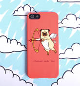 Samsung Giant Sparrows Pug Love Dog Phone Case For iPhone Or Galaxy