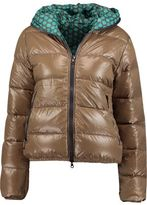 Duvetica Reversible Hooded Quilted Shell Down Jacket