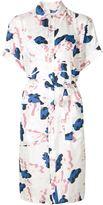 Julien David printed shirt dress - women - Silk - M