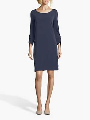 Betty Barclay Round Neck Jersey Dress, Dark Sky