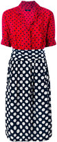Diesel 'D-Blaze' heart and spot print dress - women - Viscose - S