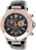 GUESS GUESS? Men's X72005G2S Leather Swiss Quartz Watch with Dial