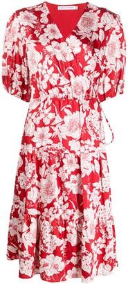 Rebecca Minkoff floral midi dress