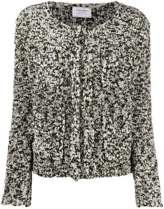 Snobby Sheep Long Sleeve Tweed Jacket