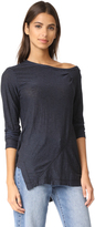 Wilt One Shoulder Long Sleeve Tee