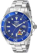 Invicta Men's Disney Limited Edition Steel Bracelet & Case Automatic Blue Dial Analog Watch 24497