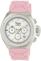 Freelook Women's HA6303-5X Aquamarina III Swarovski Crystal-Accented Stainless Steel Watch with Pink Band