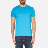 BOSS GREEN Men's Small Logo TShirt - Blue