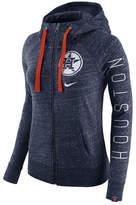 Nike Women's Houston Astros Gym Vintage Full-Zip Hooded Sweatshirt