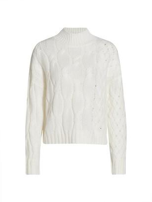 360 Cashmere Mockneck Sweater