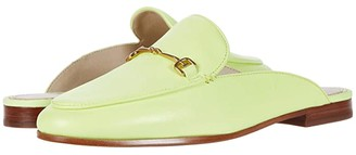 Sam Edelman Linnie (Electric Pink Neon Nappa Leather) Women's Clog/Mule Shoes
