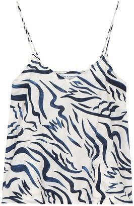 Desmond & Dempsey Expressionist Printed Cotton Camisole