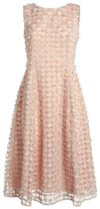 D-Exterior D.Exterior Embroidered Midi Dress